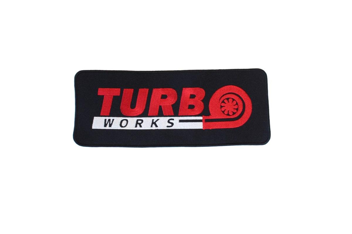 Naszywka TurboWorks 26,5 x 10cm - GRUBYGARAGE - Sklep Tuningowy